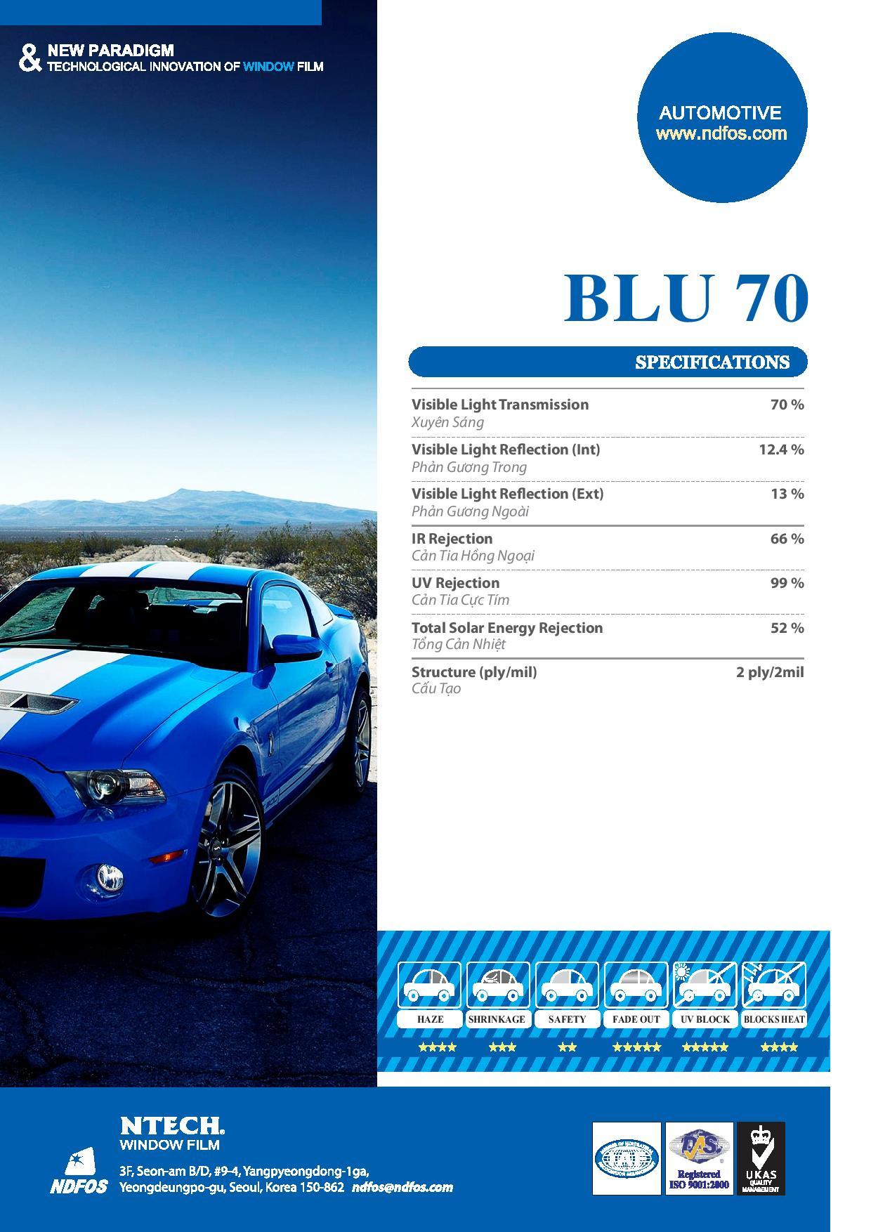 Mã phim Blu 70