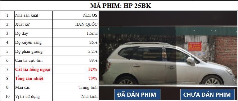 HP 25BK.1