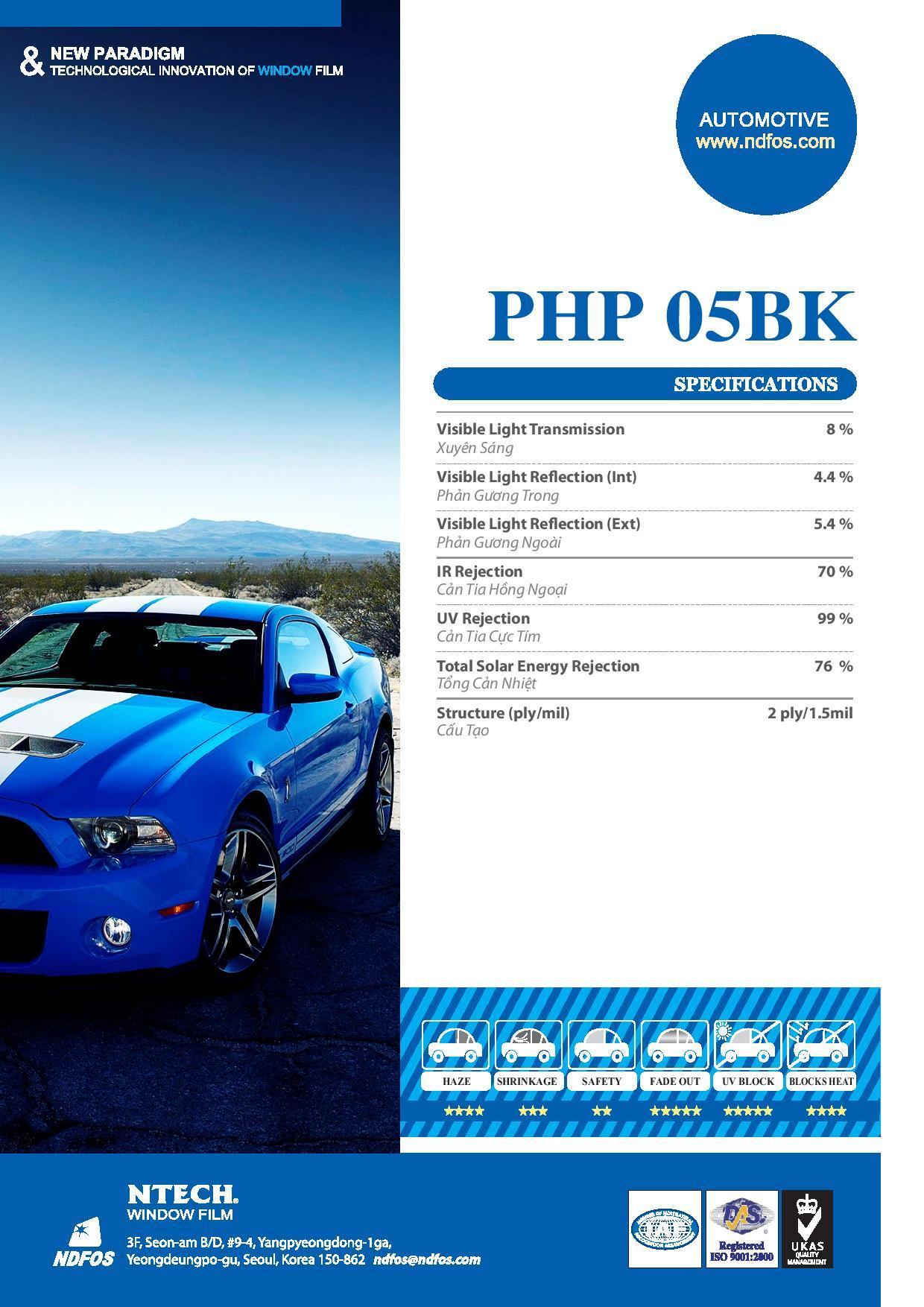 Mã phim PHP 05 BK