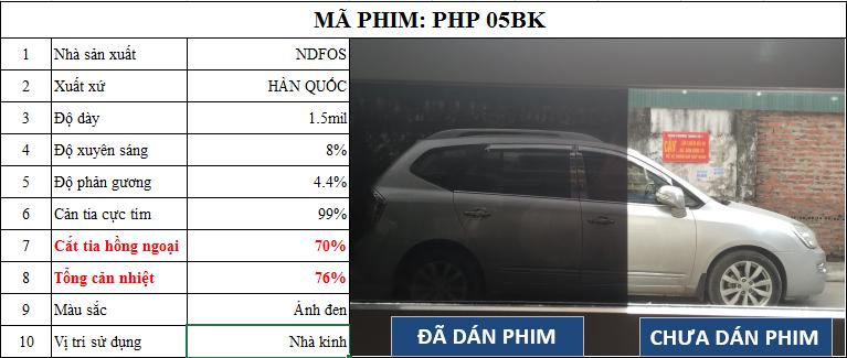 Mã phim PHP 05BK