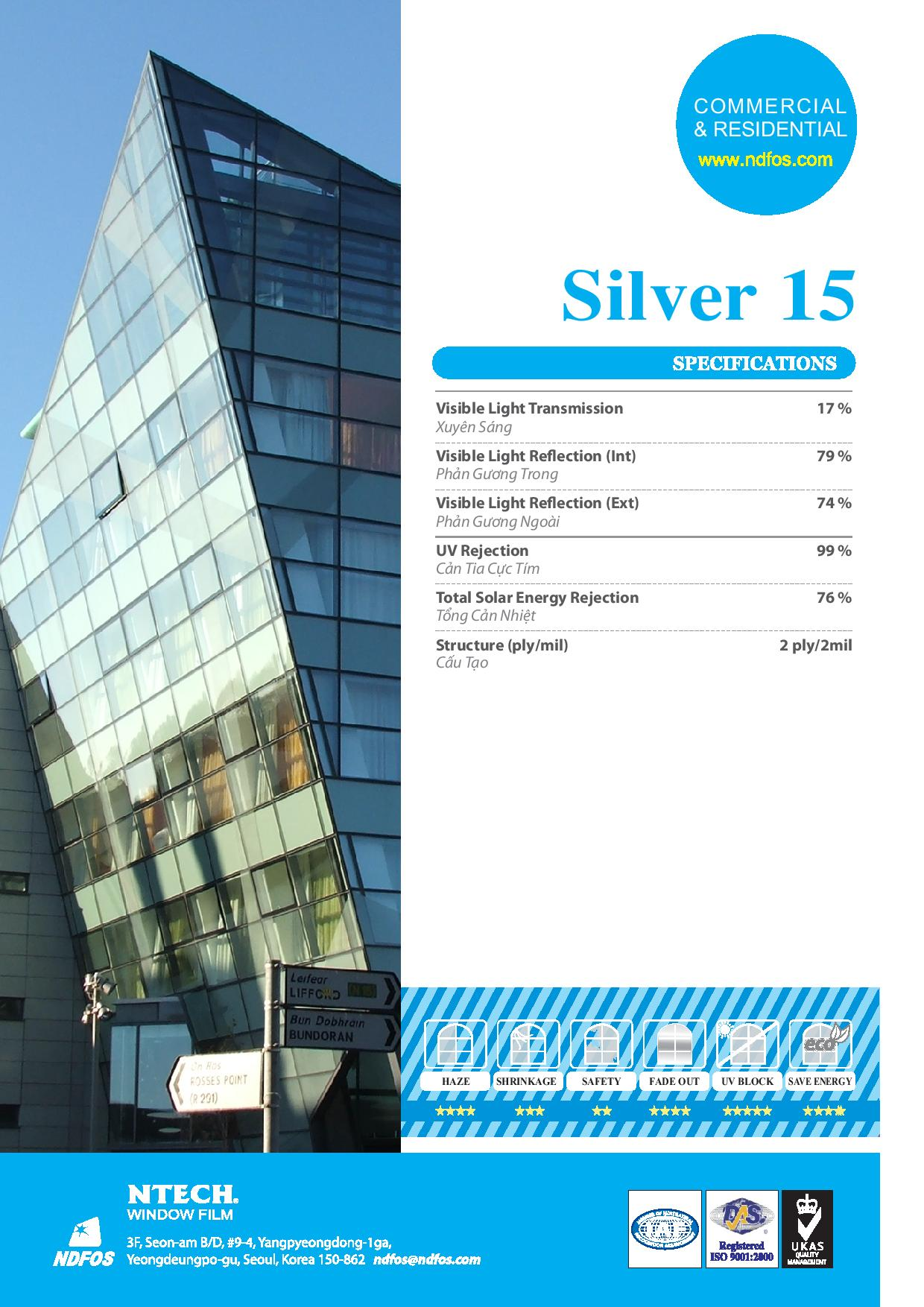 mã phim Silver 15